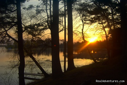Birchwood Beach Resort & Campground: Sunrise at Home #1