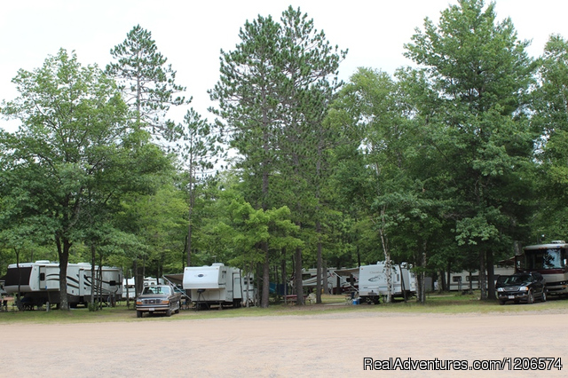 Chain-O-Lakes Campground Campgrounds & RV Parks Eagle River, Wisconsin