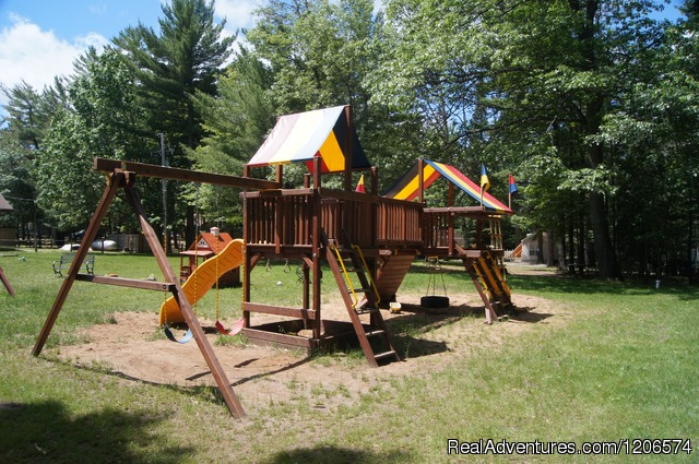 Playground - Chain-O-Lakes Campground