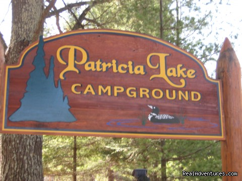 Patricia Lake Campground Front entrance