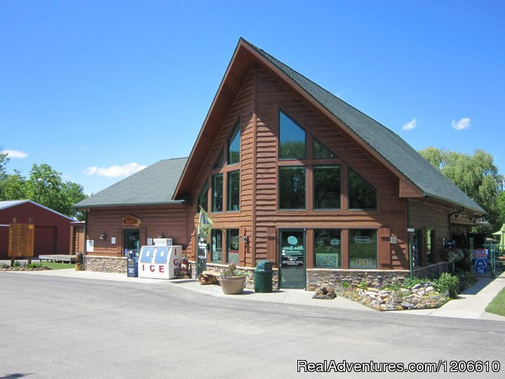 Office/Store/Grill | Image #1/21 | Rio, Wisconsin  | Campgrounds & RV Parks | Silver Springs Campsites Inc