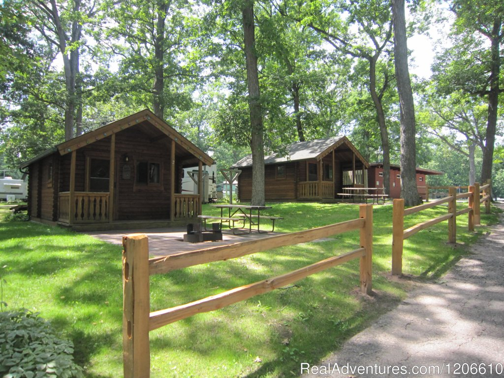 Basic Sleeping Cabins | Image #3/21 | Silver Springs Campsites Inc
