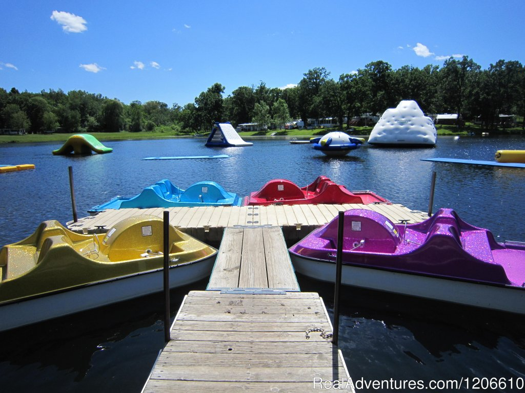 Paddleboats | Image #6/21 | Silver Springs Campsites Inc