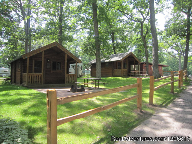 Basic Sleeping Cabins (#3 of 22) - Silver Springs Campsites Inc