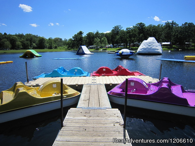 Paddleboats - Silver Springs Campsites Inc