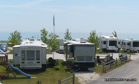 Village Inn on the Lake/Badger Park RV Sites: RV Park