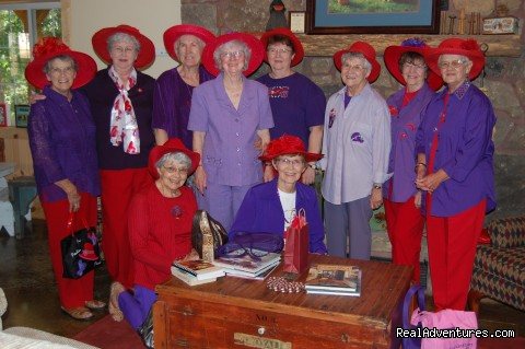 Red Hats Luncheon - Blackberry Creek Retreat B&B