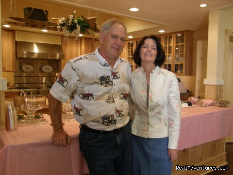 Your Hosts - Blackberry Creek Retreat B&B