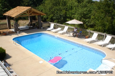 BarnAgain Swimming Pool - Vintage Barn Vacation Rental