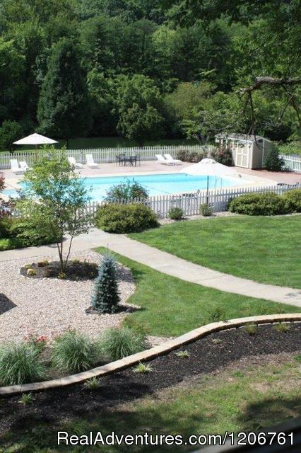 Pool and Grounds - Inn on Crescent Lake