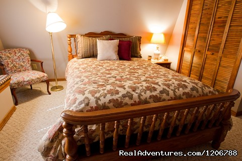 Bed Room of a Guest Suite (#6 of 7) - Luxury Bed and Breakfast Suites on Table Rock Lake