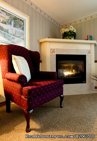 Living Room of a Guest Suite - Luxury Bed and Breakfast Suites on Table Rock Lake