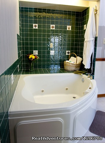 A Guest Whirlpool Tub - Luxury Bed and Breakfast Suites on Table Rock Lake