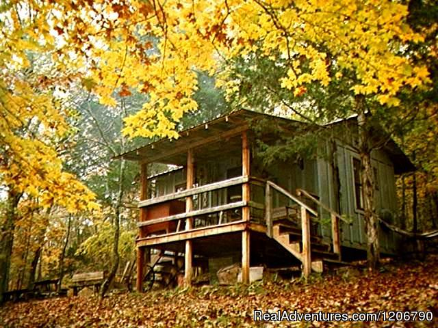Line Camp Cabin - Rock Eddy Bluff Farm, escape into the ozark hills