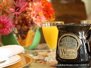 3 Course Breakfast, Served Daily. - Weston Bed & Breakfast