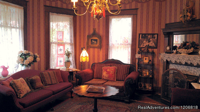 Enjoy morning coffee in our Parlor... (#2 of 9) - Weston Bed & Breakfast
