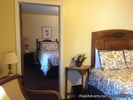 Experience historic stay in Calif. Gold Country 2 Bedroom Suite