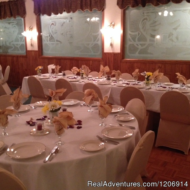 Banquet Room - Experience historic stay in Calif. Gold Country