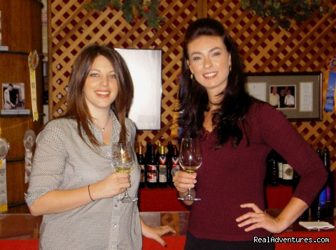 Guests at Ficklin Vineyards Tasting Room (#2 of 8) - Madera Wine Trail