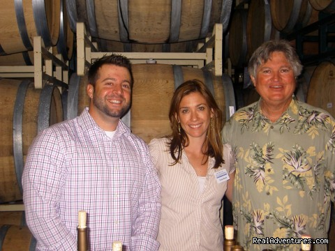 Part of the crew at Mariposa Wine Co. - Madera Wine Trail