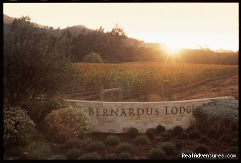 Bernardus Lodge: Bernardus Lodge Entrance