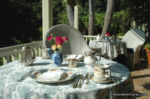 Breakfast Setting - Simpson House Inn