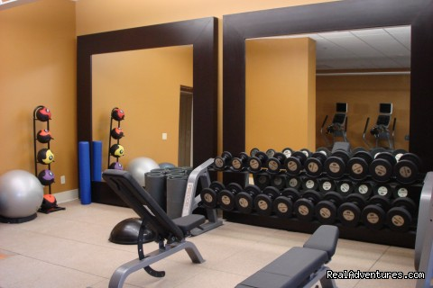 Fitness Center - Hilton Irvine & Orange County Airport
