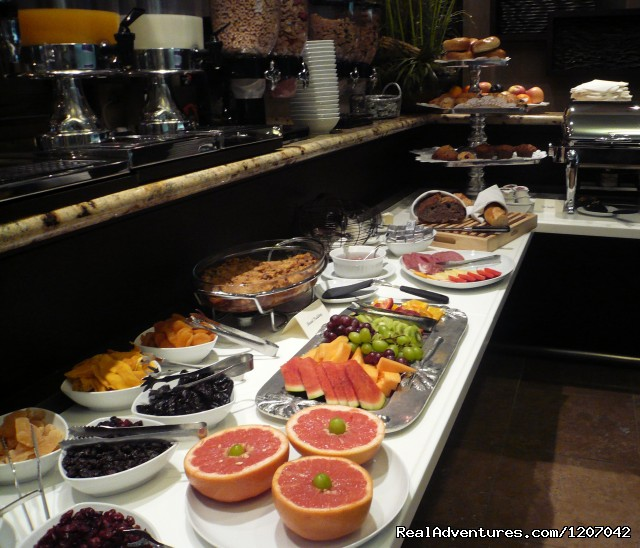 European Breakfast - always included! - Hotel Parisi