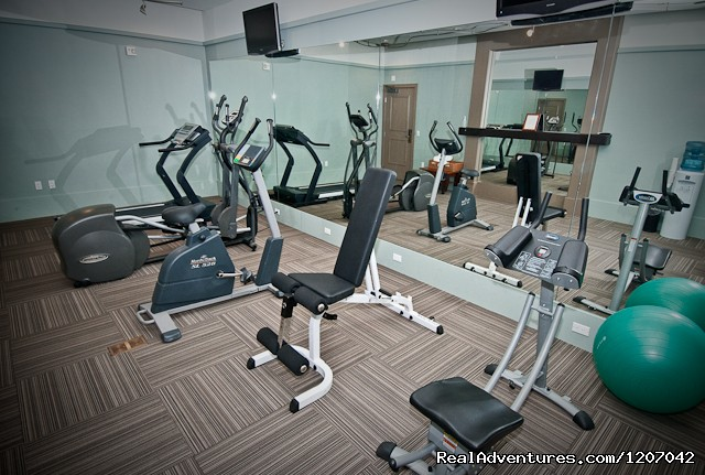 Fitness Room - Hotel Parisi