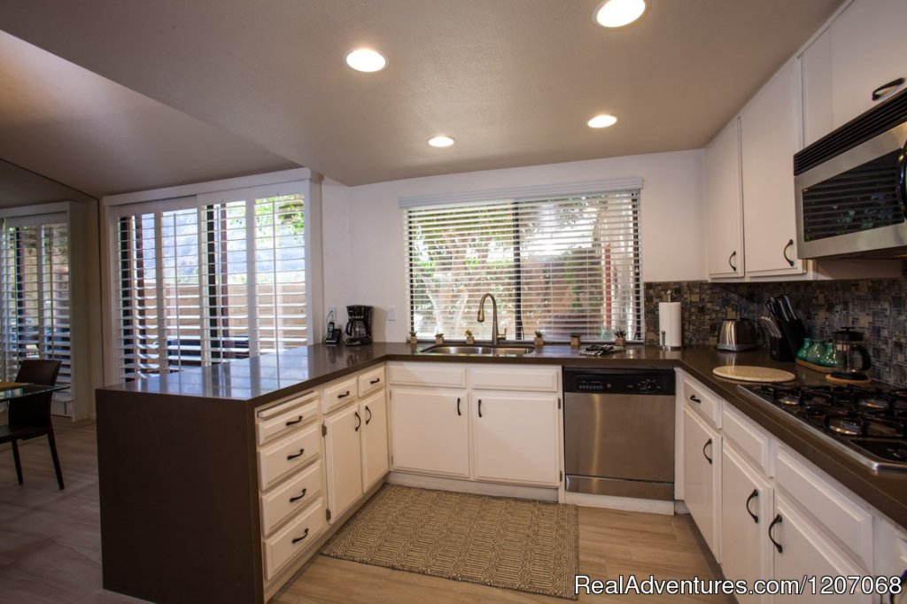 Fully-Equipped Modern Kitchen | Image #4/8 | Sinful Seclusion in Uptown- Palm Springs TOT3100
