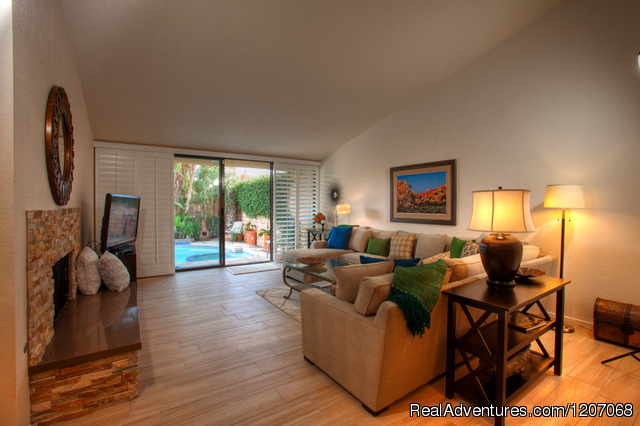 Private Heated Pool & Spa Villa in Palm Springs - Private Pool Vacation Villas at Sundance Villas