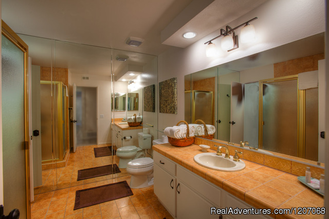 Spacious Guest Bath - Private Pool Vacation Villas at Sundance Villas