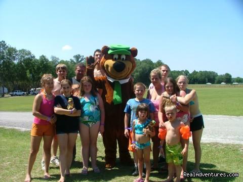 Friends with Yogi Bear (#4 of 20) - Family Camping Yogi Bear's Jellystone Park Florida