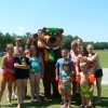 Family Camping Yogi Bear's Jellystone Park Florida Friends with Yogi Bear