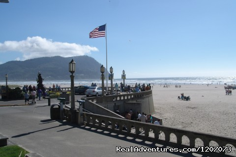 Turnaround in Seaside, Oregon - Seaside Visitors Bureau