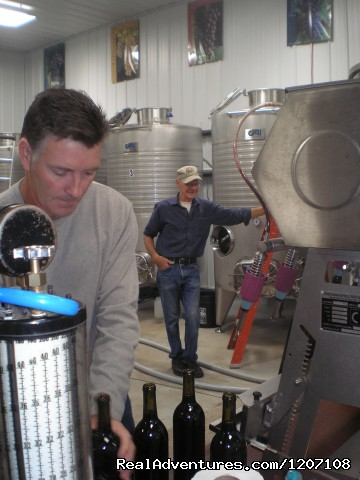 Bottling our new Wine (#6 of 14) - Parallel 44 Vineyard & Winery