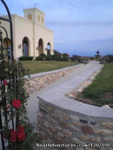 Walkway to the Winery