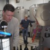 Bottling our new Wine