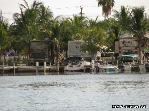 Bayside RV sites - Boyd's Key West Campground
