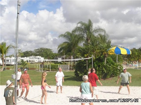 Volleyball - Miami Everglades Campground
