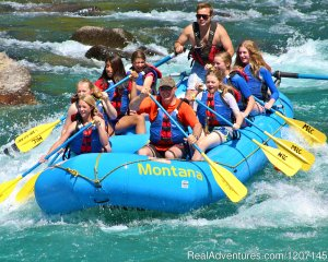 Glacier Park Rafting, Hiking, Fishing, Biking West Glacier, Montana Rafting Trips