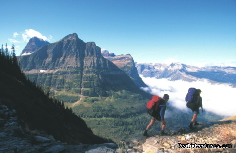 Glacier National Park Hiking & Rafting Adventures Backpacking with Glacier Guides