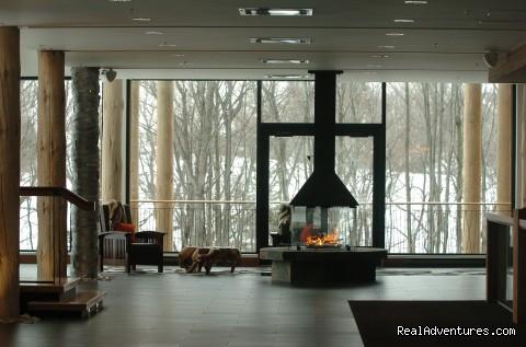 Lobby - Hôtel-Musée Premières Nations