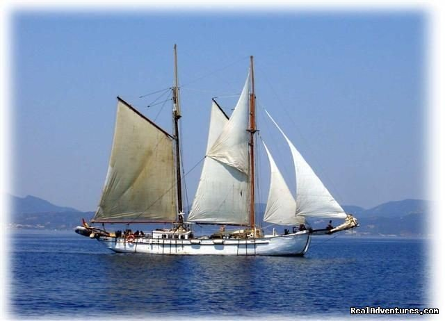 Experience sailing, experience the past aboard ANNA while she sails around the Med. We foster international relations; meep people from around the world. Available: 11 berths. Children very welcome. Simple pleasures to rebuild your complicated life!