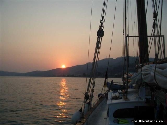 underway in Greece | Image #2/2 | SAIL aboard AUTHENTIC 1875 Schooner & in the Med