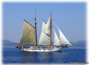 SAIL aboard AUTHENTIC 1875 Schooner & in the Med  PREVESA, GREECE, Greece Sailing & Yacht Charters