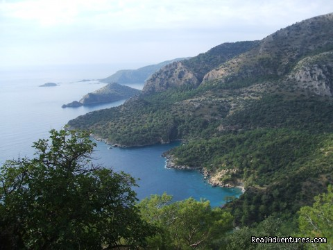 Gemiler Bay - Hiking in Kayakoy, Turkey: the Spirit of Lycia