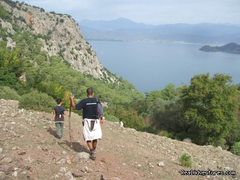 Tunrunc Pinnari Hike West from Kayakoy - Hiking in Kayakoy, Turkey: the Spirit of Lycia