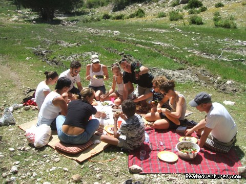 Pic-Nic in the Cukurardic yaila (Arsakoy)  - Hiking in Kayakoy, Turkey: the Spirit of Lycia