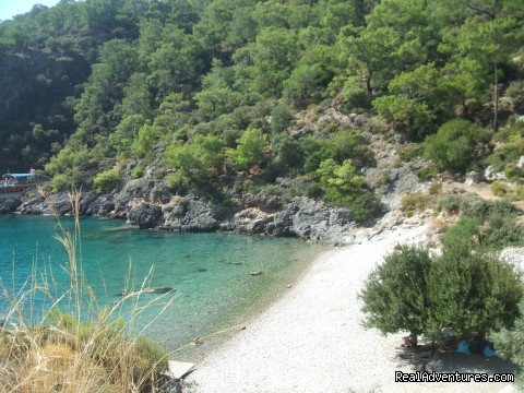 Cold Water Bay - Hiking in Kayakoy, Turkey: the Spirit of Lycia